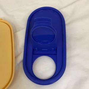 Tupperware Kitchen - 3 Tupperware Mod Mates Oval Rep Seals #1616 #1617